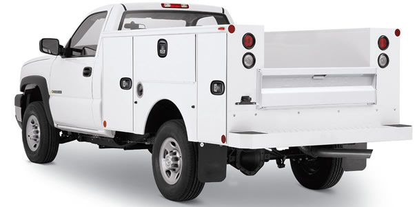 Utility Body Replacement Parts : Standard service bodies